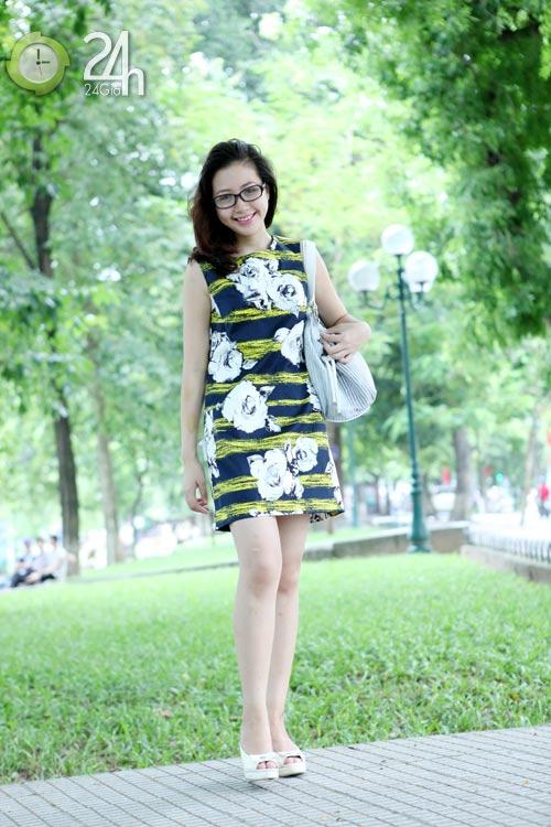 Rạng rỡ với váy suông họa tiết - 4