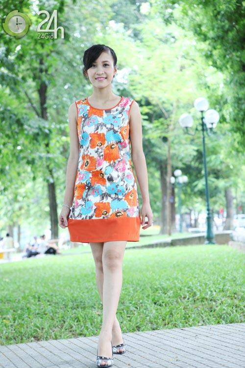 Rạng rỡ với váy suông họa tiết - 10