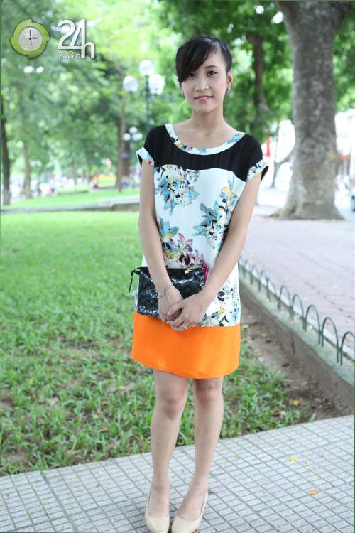 Rạng rỡ với váy suông họa tiết - 6