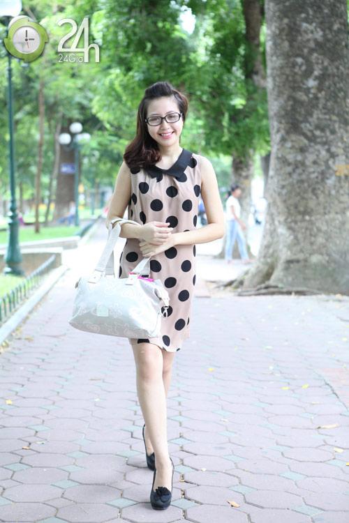 Rạng rỡ với váy suông họa tiết - 2