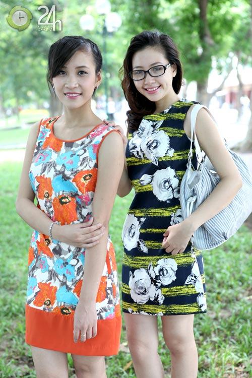Rạng rỡ với váy suông họa tiết - 8