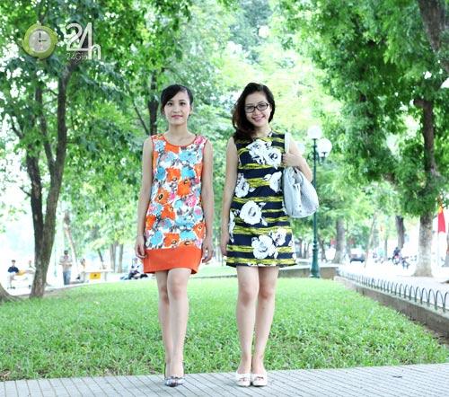 Rạng rỡ với váy suông họa tiết - 9
