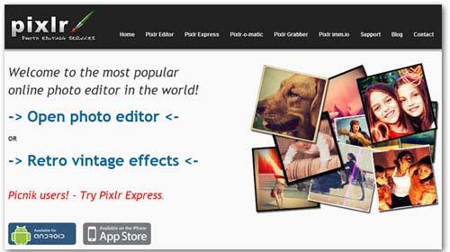 Top 12 sites giúp thay thế ứng dụng Photoshop - 1