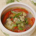 Ẩm thực - Canh ngao nấu dứa chua dịu đưa cơm