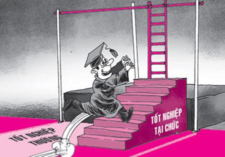 Làn sóng tẩy chay hệ đại học tại chức - 2