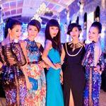 Thời trang - Dàn mẫu Top Model lộng lẫy dự yến tiệc