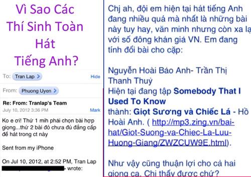 Clip tố Giọng hát Việt sắp đặt kết quả - 1