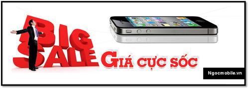 Iphone 3GS quốc tế giảm giá kịch sàn - 1