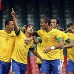 """Bóng đá - Brazil - Trung Quốc: Vùi dập """"đàn em"""""""