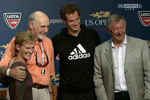 Murray vô địch nhờ có Sir Alex, Thể thao, murray, sir alex, andy murray, alex ferguson, murray vo dich us open, us open, us open 2012, video us open 2012, us open cup, us open cup 2012, BXH tennis, tennis, video tennis, Grand Slam, the thao, quan vot, tay vot, lich thi dau tennis, tin the thao, bao the thao