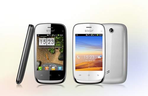 """Cùng """"soi"""" smartphone Q-Smart S1 - 1"""