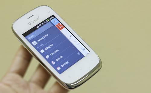 """Cùng """"soi"""" smartphone Q-Smart S1 - 4"""
