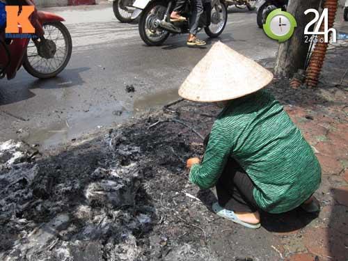 Hà Nội: Cháy cột điện, người dân hoảng loạn - 8