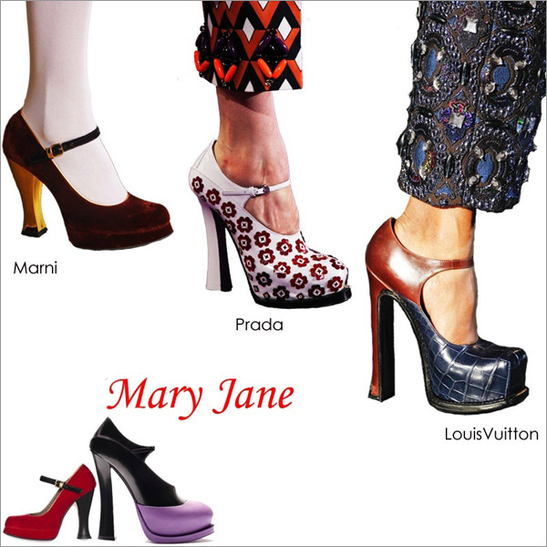 Cùng giầy Mary Jane ngọt ngào sang thu - 1