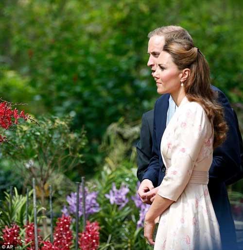 Công nương Kate Middleton lần đầu tới châu Á - 4