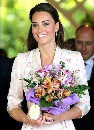 Công nương Kate Middleton lần đầu tới châu Á - 5