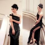 Thời trang - Hoa hậu Ngọc Diễm lộng lẫy làm MC