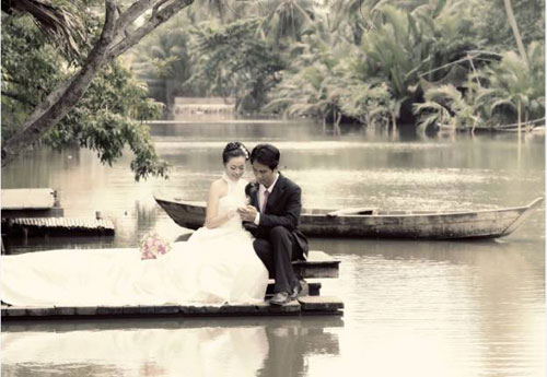 Chụp ảnh cưới ngoại cảnh tuyệt đẹp - 6