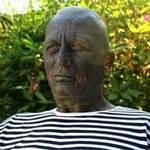 Phi thường - kỳ quặc - Người xăm mình 100% tranh cử tổng thống