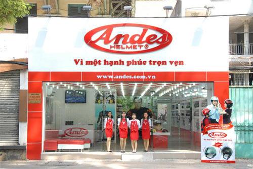 Mũ bảo hiểm Andes ưu đãi 20% mừng khai trương - 7