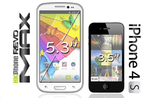 """Siêu smartphone HKPhone Revo MAX có gì """"khủng""""? - 1"""