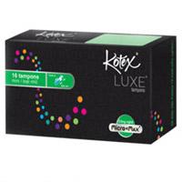 Sản phẩm Kotex® Luxe® Tampons an toàn cho người sử dụng
