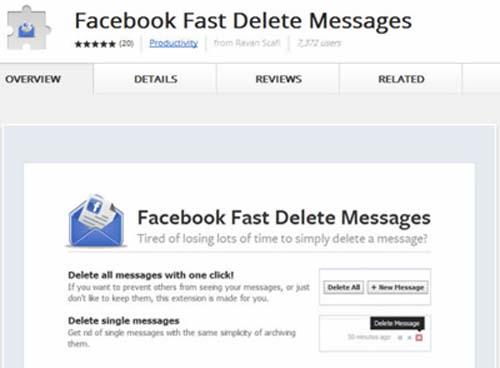 Xóa nhiều tin nhắn trong Facebook cùng lúc - 1