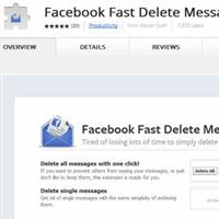 Xóa nhiều tin nhắn trong Facebook cùng lúc