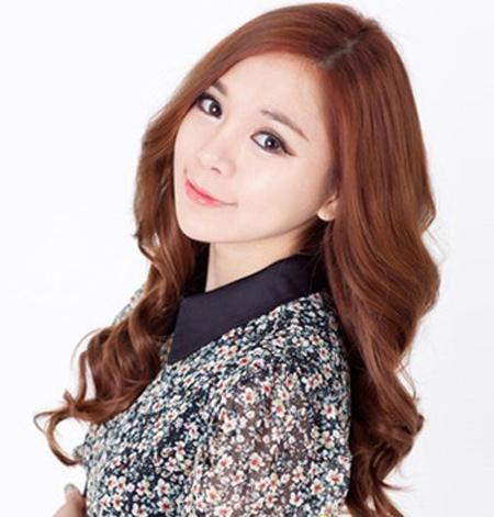 Kiểu tóc đẹp đón thu cùng thiếu nữ Hàn - 1