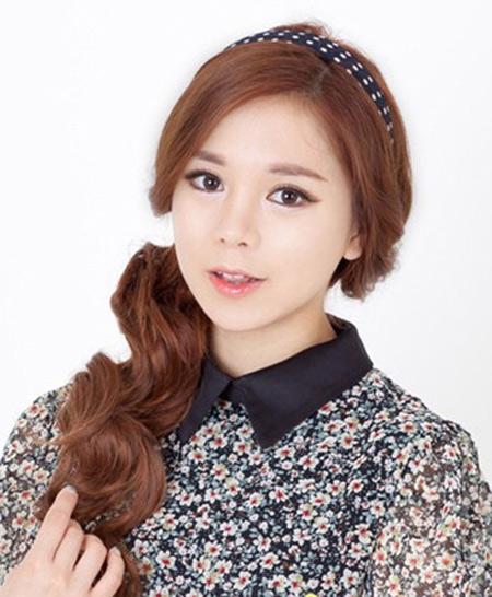 Kiểu tóc đẹp đón thu cùng thiếu nữ Hàn - 2
