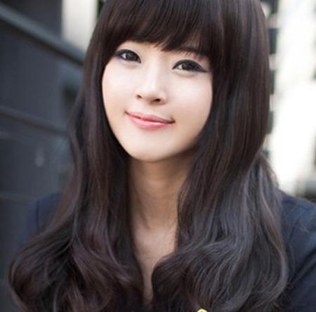 Kiểu tóc đẹp đón thu cùng thiếu nữ Hàn - 5
