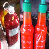 Ghê rợn độc chất trong tương ớt giá rẻ
