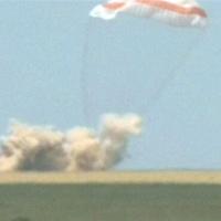 Tàu vũ trụ Soyuz của Nga trở về Trái đất