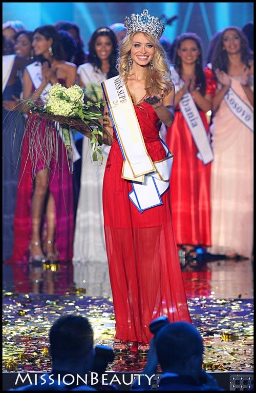 Ngắm dung nhan Hoa hậu Siêu quốc gia 2012 - 14