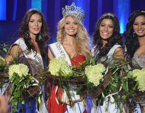 Ngắm dung nhan Hoa hậu Siêu quốc gia 2012 - 15