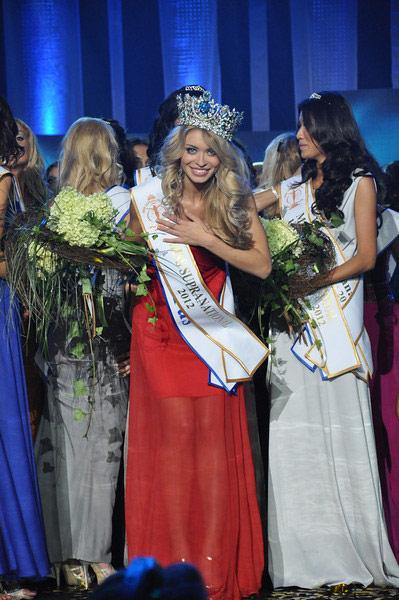 Ngắm dung nhan Hoa hậu Siêu quốc gia 2012 - 17
