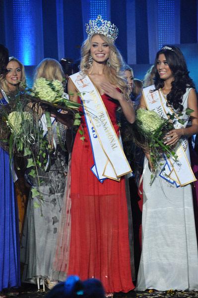 Ngắm dung nhan Hoa hậu Siêu quốc gia 2012 - 18