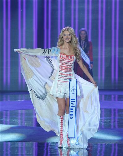 Ngắm dung nhan Hoa hậu Siêu quốc gia 2012 - 5