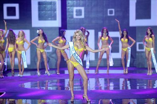 Ngắm dung nhan Hoa hậu Siêu quốc gia 2012 - 7