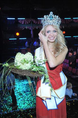 Ngắm dung nhan Hoa hậu Siêu quốc gia 2012 - 19