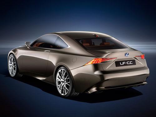 Lexus LF-CC Concept thẳng tiến Paris - 2