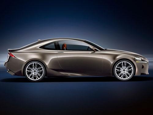 Lexus LF-CC Concept thẳng tiến Paris - 3