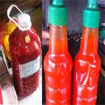 Thị trường - Tiêu dùng - Ghê rợn độc chất trong tương ớt giá rẻ