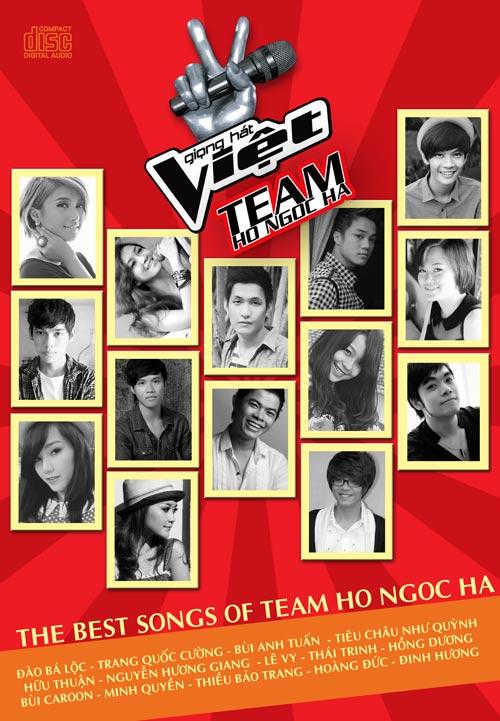Hà Hồ ra album cho học trò The Voice - 2