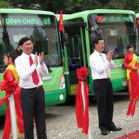 Xe buýt nhỏ thông minh chính thức hoạt động