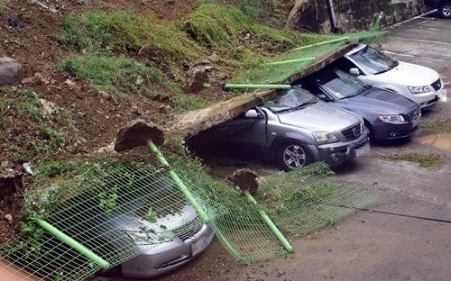 Hình ảnh về sức tàn phá dữ dội của bão Sanba - 3