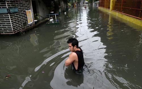 Hình ảnh về sức tàn phá dữ dội của bão Sanba - 8