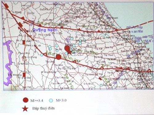 Quảng Nam: Lắp trạm quan trắc động đất - 1