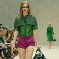 Burberry ra mắt BST nữ xuân hè 2013