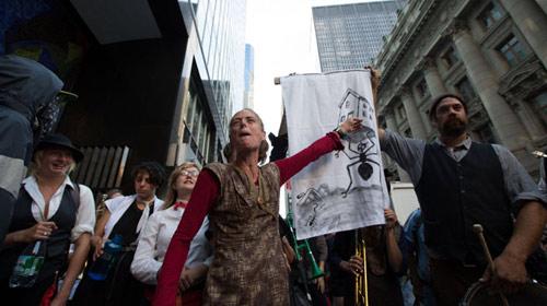 Mỹ: Bắt 200 người biểu tình Chiếm phố Wall - 3